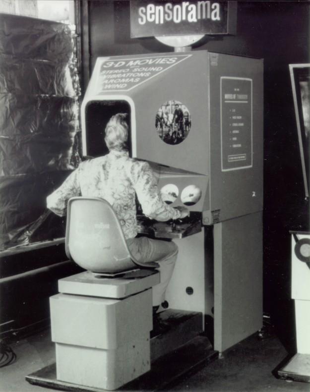 Morton Heilig Sensorama Ancêtre du casque réalité virtuelle